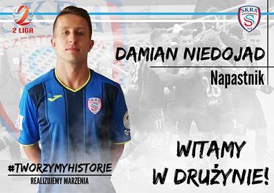 Przemysław Mońka i Damian Niedojad w Skrze. Wzmacniamy kadrę przed nowym sezonem