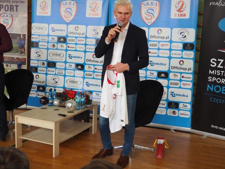 """Jacek Magiera: """"Skra jest potrzebna Częstochowie"""""""
