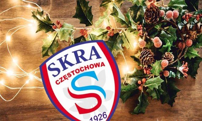 Zarząd, zawodnicy i pracownicy KS Skra życzą radosnych świąt !