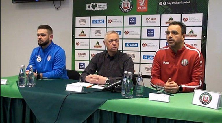Konferencja po meczu Górnik Polkowice – Skra Częstochowa