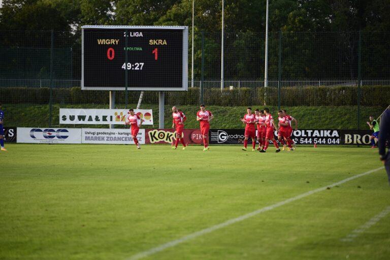 Wigry Suwałki vs Skra Częstochowa – gole z meczu